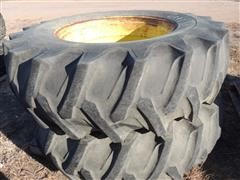 Firestone 18.4-34 Tires With Rims