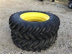 Titan 480/80R42 Stubble Guard Tires On Rims