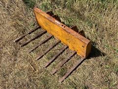 Case 1816 Manure Fork Attachment