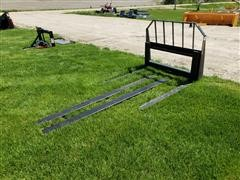 2019 Tomahawk Pallet Forks & Fork Extensions For Skid Steer