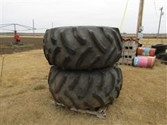 Goodyear Mounted Combine Tires