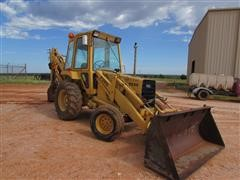 Ford 555B 2WD Loader Backhoe