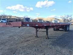 1974 Hobbs T/A Flatbed Trailer