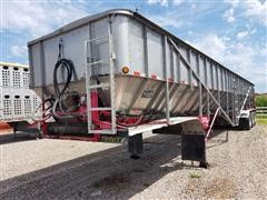 2010 Trinity Eagle Bridge SE2 Tri/A Live Bottom Trailer