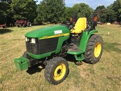 2004 John Deere 4310 Utility MFWD Tractor