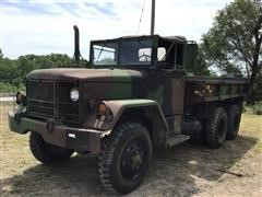 AM General 6x6 Military Flatbed Truck