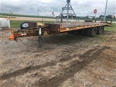 2000 Redi Haul T/A Heavy Duty Flatbed Trailer