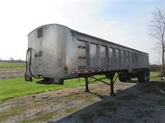 1996 East T/A Frameless End Dump Trailer