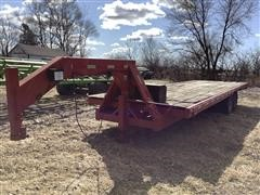 1982 Keifer Built 28' T/A Flatbed Trailer