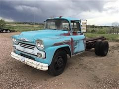 1958 Chevrolet 60 Viking Cab And Chassis