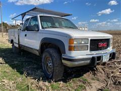 1996 GMC 2500 SLE 4x4 Service Truck