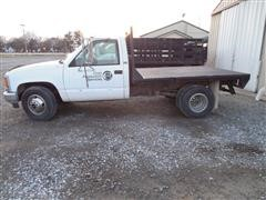 1994 GMC 3500 Flatbed Pickup