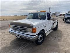 1987 Ford F350 2WD Tow Truck/Wrecker