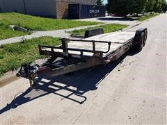2015 Big Tex 22' T/A Car Hauler Tilt Bed Trailer