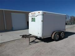 1992 Haulmark 8 X 10 T/A Enclosed Trailer