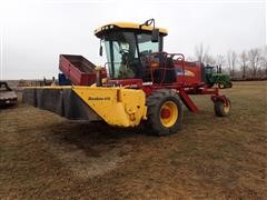2012 New Holland H8060 Self Propelled Windrower