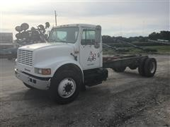 1991 International 4900 S/A Cab & Chassis