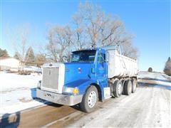 1993 Peterbilt 377 Tri/A Dump Truck