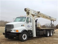 2001 Sterling LT8511 T/A Boom Truck W/National 1100 Series