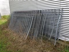 Galvanized Mesh Panels