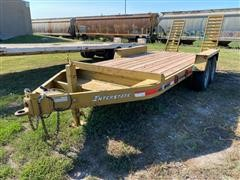 2007 Interstate T/A Flatbed Trailer