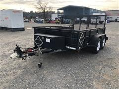 2004 TailGator T/A Utility Trailer