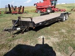 "2006 Dressen 24HD10 24'X80"" T/A Bumper Hitch Trailer W/Ramps"