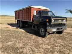 1976 GMC 6500 T/A Grain Truck