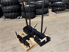 Mahindra Bale Spear Skid Steer Attachments