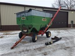 Dakon 280 Gravity Wagon With Unloading Auger
