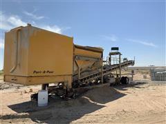 Port-A-Pour Portable Concrete Batch Plant