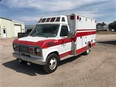 1990 Ford Econoline Collins Ambulance