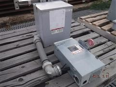 Cutler Hammer Dry Type Single Phase Transformer & Switch