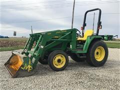 John Deere 4400 MFWD Tractor
