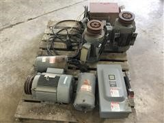 General Electric 3 Phase Motors