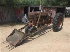 1939 International Farmall M 2WD Tractor