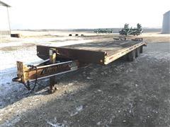 1993 Redi Haul R25210 T/A Flatbed Trailer