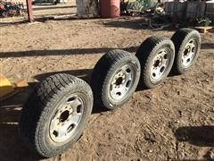 Chevrolet 8 Bolt Rims W/Hercules Tires