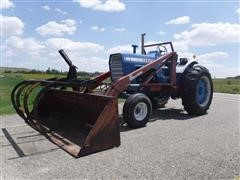 Ford 8000 2WD Tractor W/ Loader