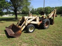 1965 Case D530 Construction King 2WD Loader Backhoe