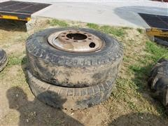 Goodyear 10.00-20 Tires And Wheels