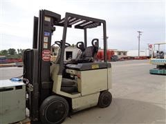 Crown 50 FCTT 188 Electric Drive Forklift With 2 Stage Mast