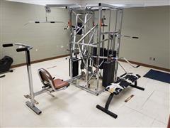 Universal Weight Training Machine