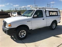 2008 Ford Ranger 4x4 Pickup W/Unicover Camper Shell