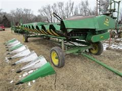 "1991 John Deere 853A 8R30"" Head W/Header Trailer"