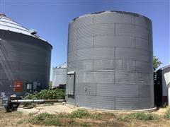 24' Grain Bin W/Unloading Auger