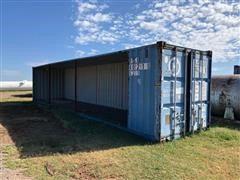 Shipping Container Shed w/ Tack Room