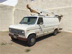 1991 Ford E350 Van W/Lift Bucket