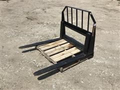 Tomahawk Skid Steer Pallet Fork Attachment