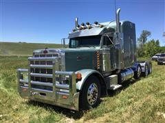 2000 Peterbilt 379 EXHD Tri/A Truck Tractor W/Wet Kit